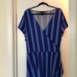 Multi-blue dress